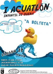 Cartel I Acuatlon A Bolteta